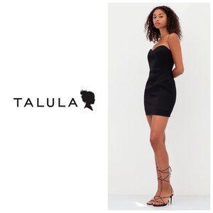 ARITZIA TALULA Strapless Bustier Black Dress